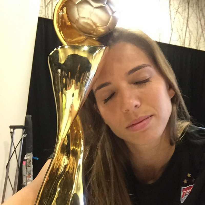 Tobin Heath Is Just Too Cool For You