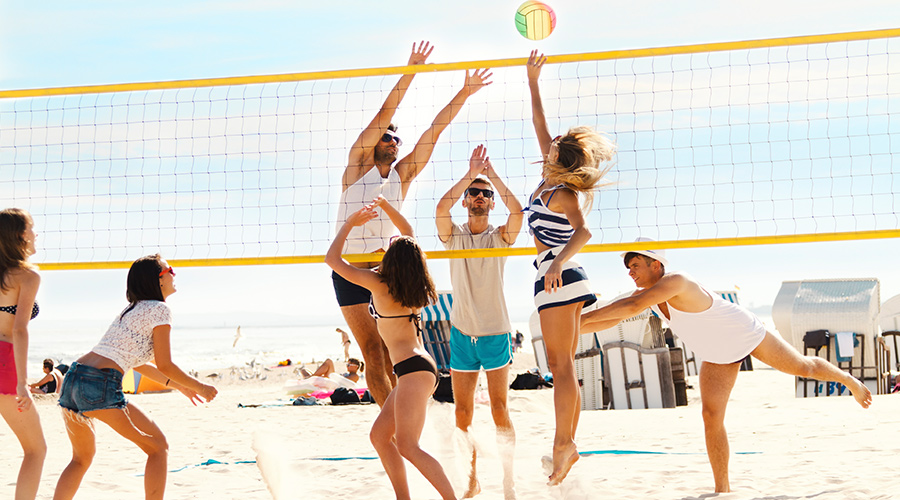 Learn To Play Beach Volleyball Like An Olympian