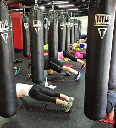 Title Boxing Gym, kickboxing, group fitness
