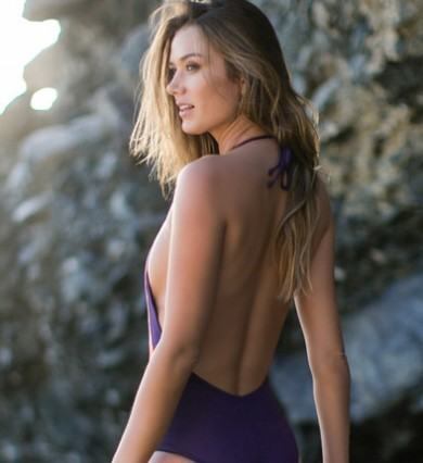 Water Glamour Reversible One Piece