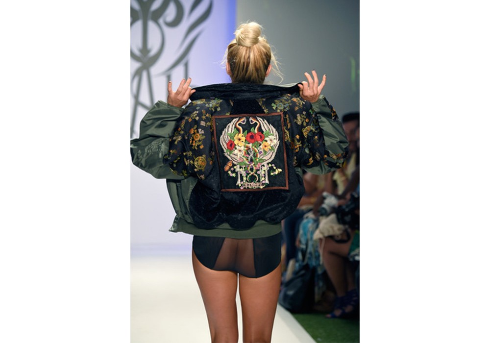 Hot As Hell Model Bomber Jacket