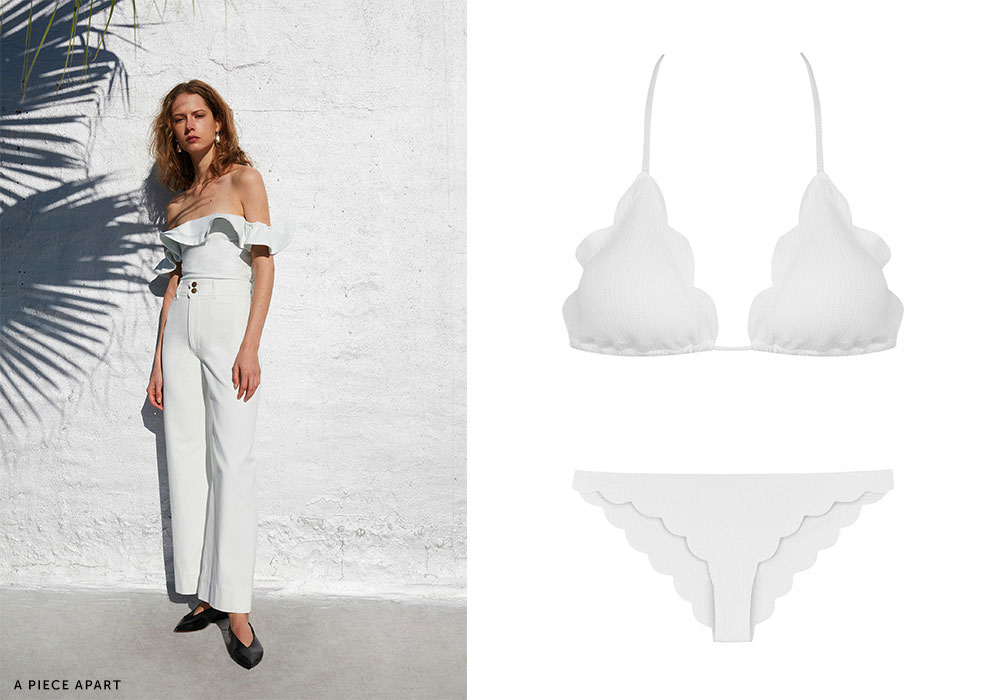 4648ea313f Designers repped white ensembles like no other color. Luckily
