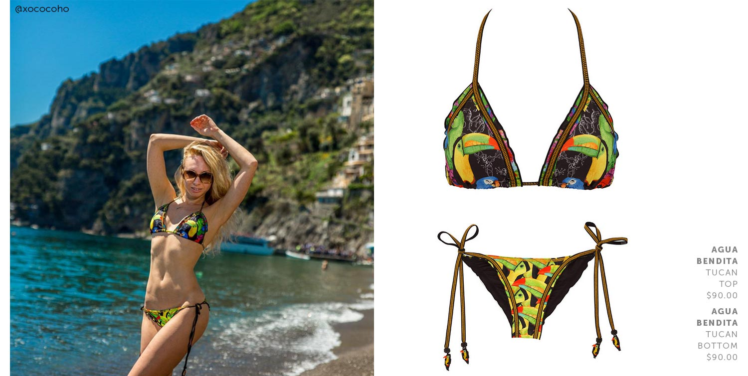 8c558fee70 Beach Scene: Agua Bendita | Bikinis, Swimwear, The Bikini & Beach ...