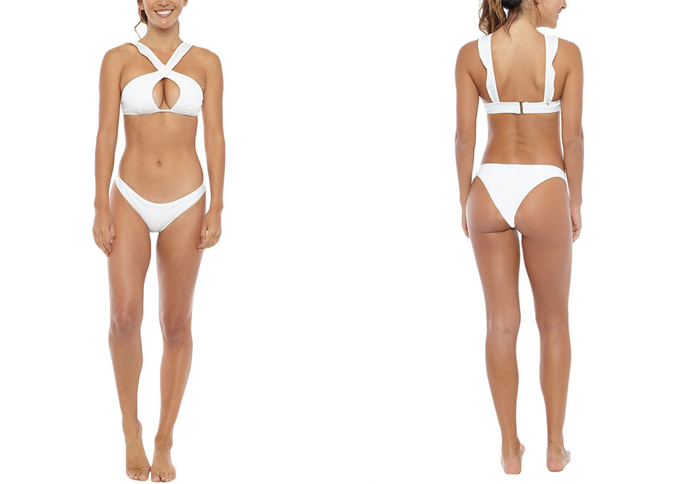 For Love & Lemons La Playa Top Bottom Laura Odegard Bikini Aesthetic