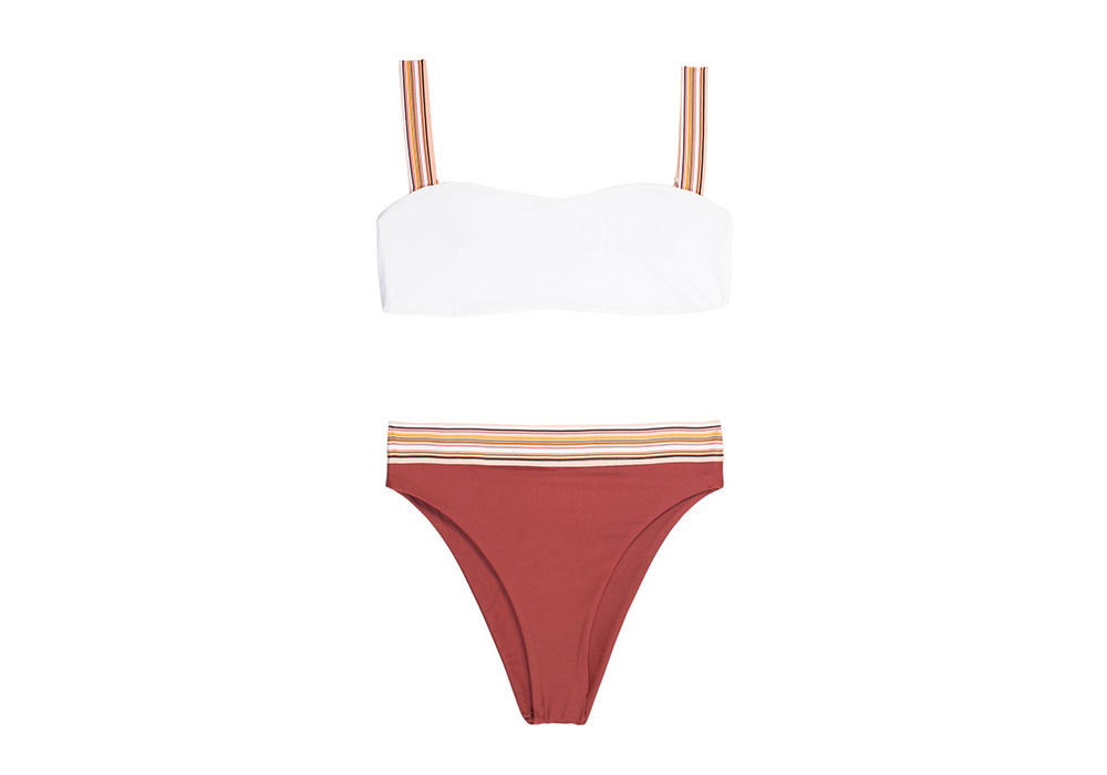 Same Swim Foxy Top High Rise Bottom