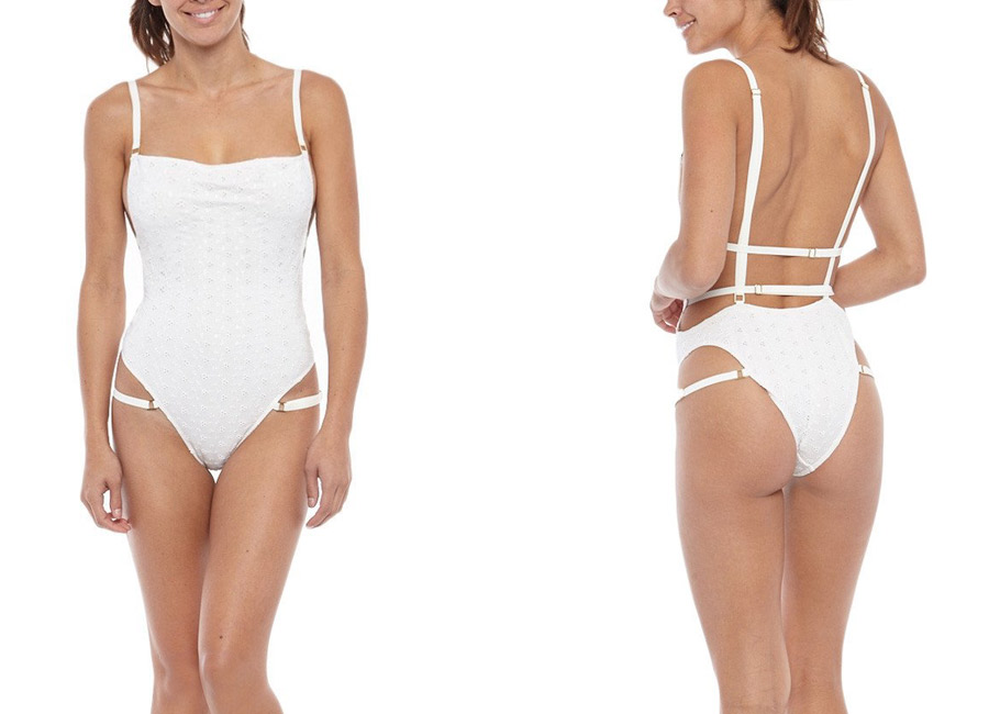 Hot as Hell HAHP 2 It One-Piece UV SPF Protective Swimwear