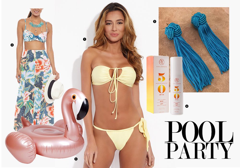 Ways to Wear Hot As Hell Bikini Swimsuit Top Pool Party