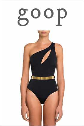 Goop Featuring MOEVA Camilla One Piece and more