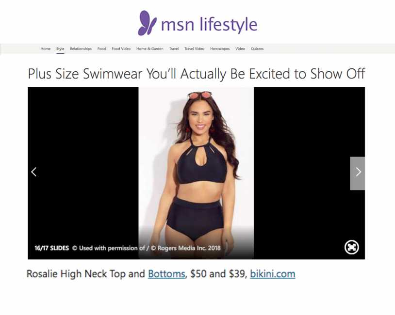 RAISINS CURVE ROSALIE HIGH NECK TOP & ISLAND PANT Featured on MSN Lifestyle
