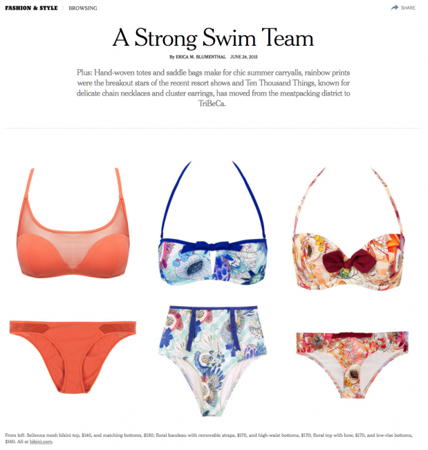 NEw-york-times-Featuring-Seilenna-swimwear