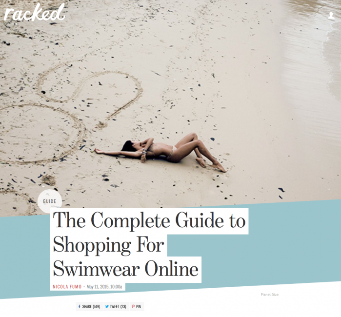 racked The Complete Guide to Shopping For Swimwear Online