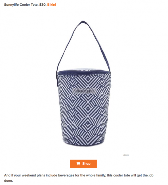 Beat the heat in style with these beach day essentials Sunnylife Cooler Tote featured on Today