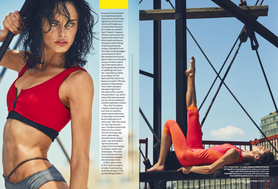 CARDO PARIS CARDOMINI TOP Featured in Shape Magazine