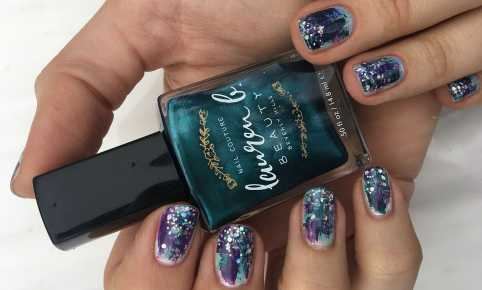 Mermaid Manicure Lauren B. Beauty