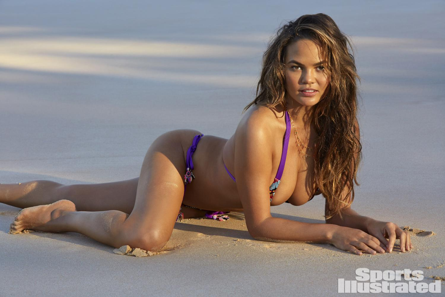 Chrissy Teigen Salty Mermaid